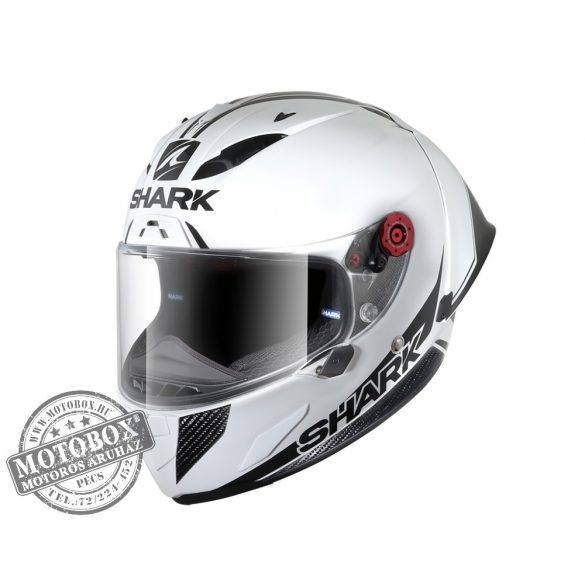 Shark bukósisak - Race-R Pro GP - 30th Anniversary - 8450-WDK White Carbon Black