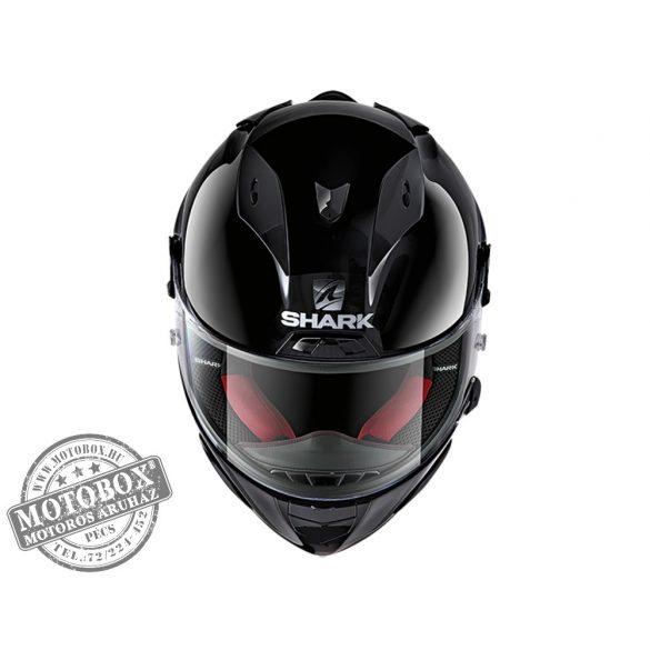 Shark bukósisak - Race-R Pro - Blank - 8600-BLK fekete