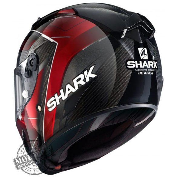 Shark bukósisak - Race-R Pro Carbon - Deager - 8663-DUR
