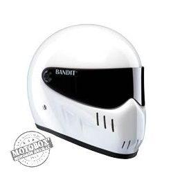 Bandit sisakok - Bandit - Bandit XXR - BLK - fehér