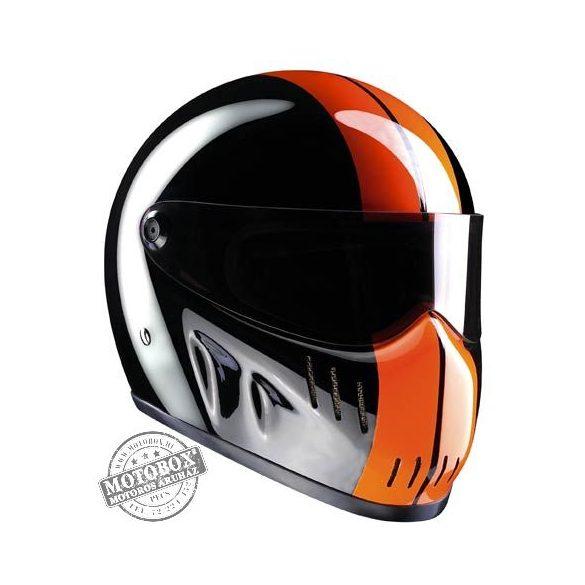 Bandit sisakok - Bandit - Bandit XXR Race - Fekete-narancs