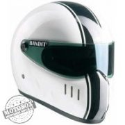Bandit sisakok - Bandit - Bandit XXR Classic - Fehér-fekete
