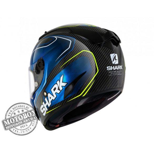 Shark bukósisak - Race-R Pro Carbon - Replica Guintoli - 8664-DBY