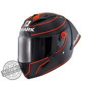 Shark bukósisak - Race-R Pro GP - Replica Lorenzo Winter Test 2019 - 8421-KRK matt fekete-piros