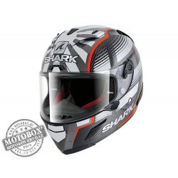 Shark bukósisak - Race-R Pro Carbon - Replica Zarco Malaysian GP - 8666-DRA Red Anthracite