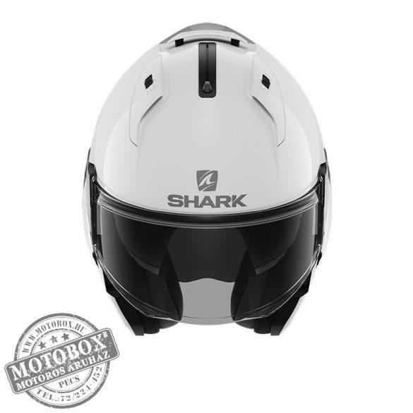 SHARK bukósisak - EVO ES - Blank - 9800-WHU - fehér