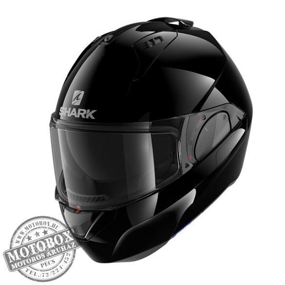 SHARK bukósisak - EVO ES - Blank - 9800-BLK - fekete