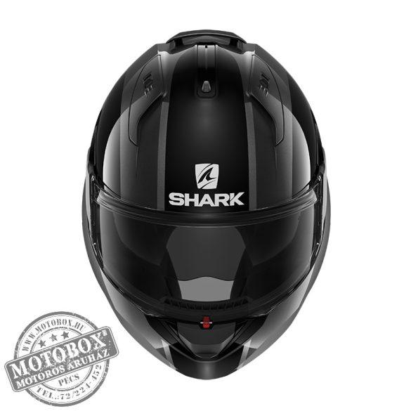 SHARK bukósisak - EVO ES - Endless - 9806-WKR fekete-szürke