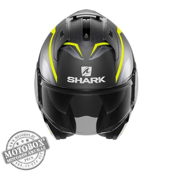 SHARK bukósisak - EVO ES - Yari mat - 9804-AYS matt szürke-UV