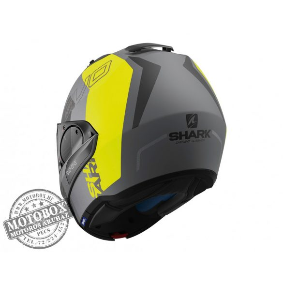 SHARK bukósisak - Evo-One 2 - Slasher mat - 9715-AYK - szürke-UV matt