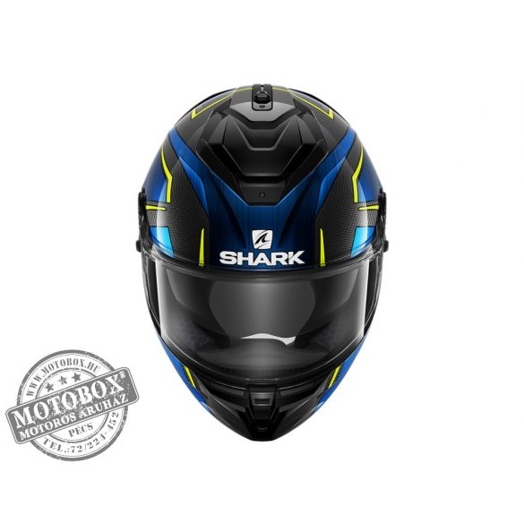 Shark bukósisak - Spartan GT CARBON - Kromium - DUB-7008