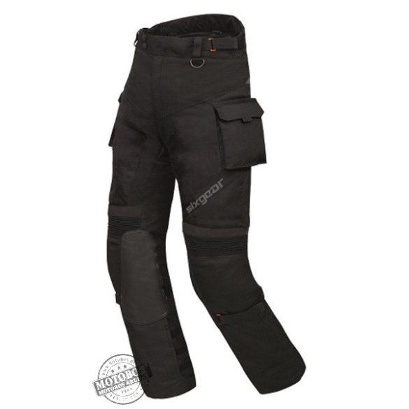 Sixgear Delta Force textilnadrág fekete