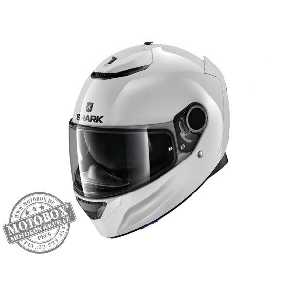 Shark bukósisak - Spartan - White WHU-3430