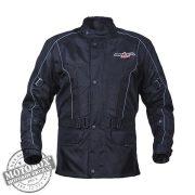 SPEED UP Halden Flow textilkabát fekete
