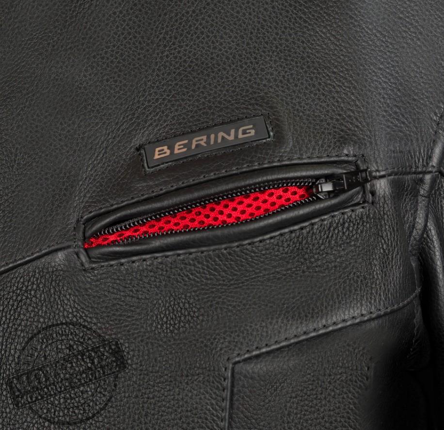 Bering motoros ruházat - Bőrdzseki - Gringo (King Size) - BCB320 ... b3e407efd5