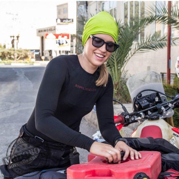 BRUBECK® 3D MOTORBIKE PRO Uniszex hosszú ujjú motoros aláöltöző felső fekete