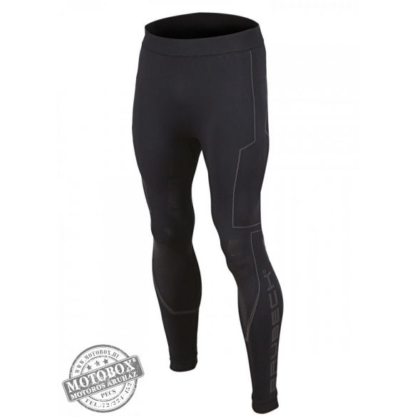 BRUBECK® COOLER Nyári férfi motoros aláöltöző nadrág fekete