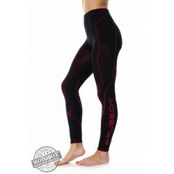 BRUBECK® COOLER Nyári női motoros aláöltöző nadrág fekete-pink