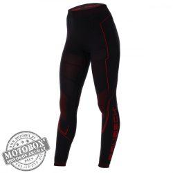 BRUBECK® COOLER Nyári női motoros aláöltöző nadrág fekete-piros