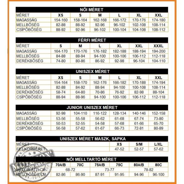 BRUBECK® Sportmelltartó/Crop Top fekete