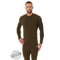 BRUBECK® THERMO férfi aláöltöző felső khaki