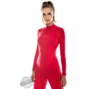 BRUBECK® THERMO női aláöltöző felső málna