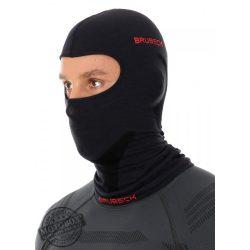 BRUBECK® Uniszex Merino gyapjú thermo maszk fekete