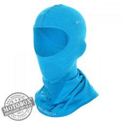 BRUBECK® Uniszex Merino gyapjú thermo maszk világoskék