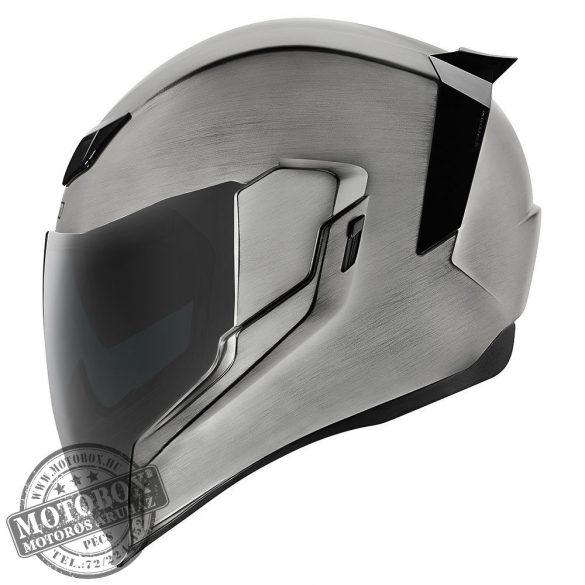 ICON AirFlite bukósisak QuickSilver ezüst