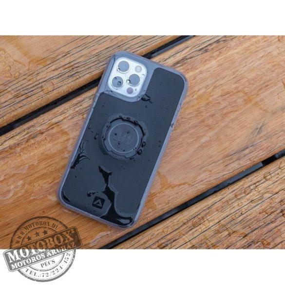 APPLE iPhone 12 Pro Max QUAD LOCK Poncho vízálló tok kiegészítő