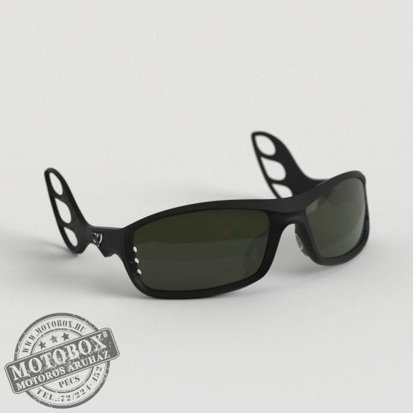 FLYWEAR Alpha Fekete napszemüveg Transitions® DriveWear® fényre sötétedő polarizált lencsével