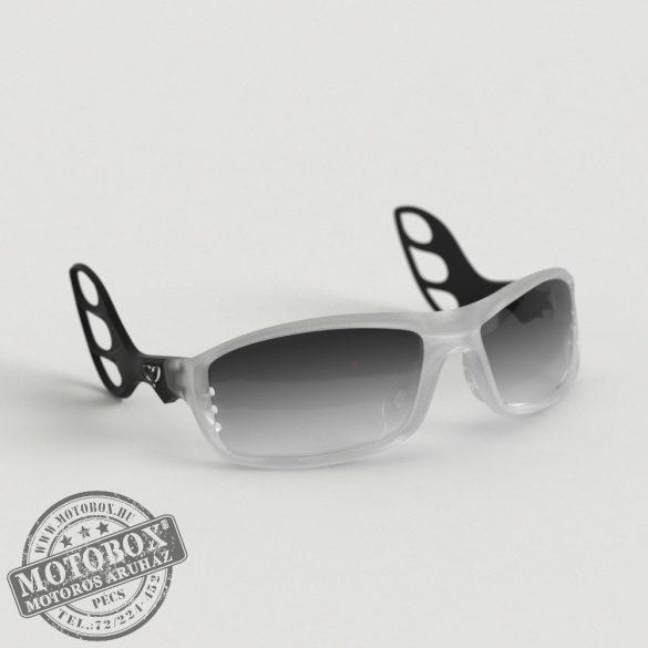 FLYWEAR Alpha Jégkristály/Fekete napszemüveg Transitions® XTRActive® fényre sötétedő szürke lencsével