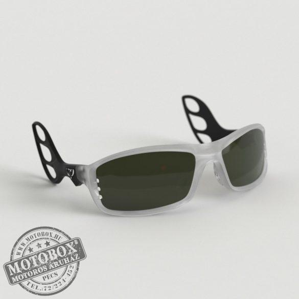 FLYWEAR Alpha Jégkristály/Fekete napszemüveg Transitions® DriveWear® fényre sötétedő polarizált lencsével