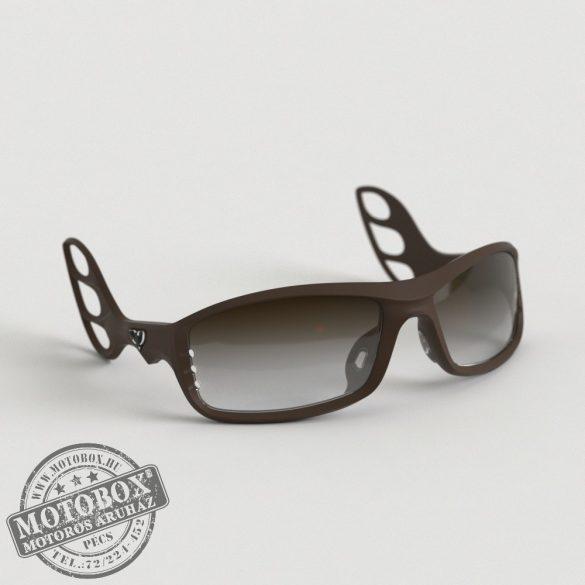 FLYWEAR Alpha Kávébarna napszemüveg Transitions® XTRActive® fényre sötétedő barna lencsével