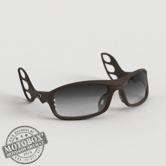 FLYWEAR Alpha Kávébarna napszemüveg Transitions® XTRActive® fényre sötétedő szürke lencsével
