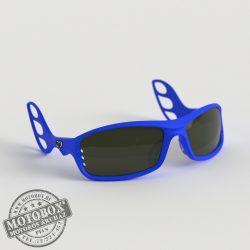 FLYWEAR Alpha Kék napszemüveg füstszürke lencsével