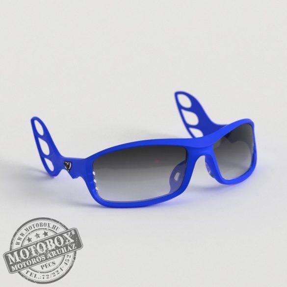 FLYWEAR Alpha Kék napszemüveg Transitions® XTRActive® fényre sötétedő szürke lencsével