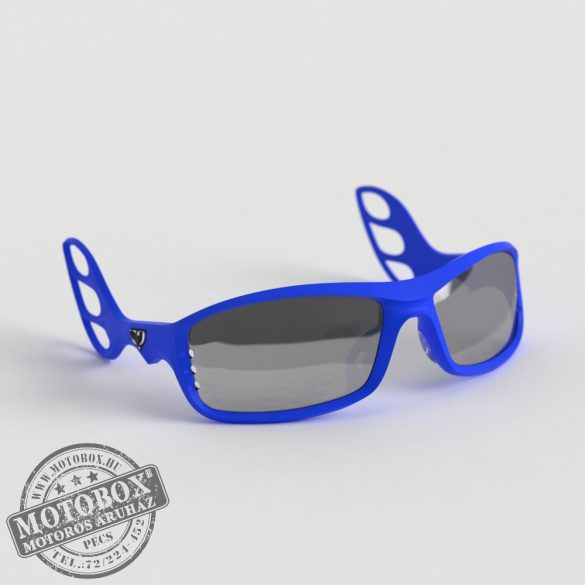 FLYWEAR Alpha Kék napszemüveg tükrös ezüst lencsével