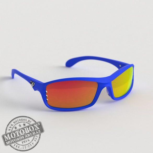 FLYWEAR Alpha Kék napszemüveg tükrös piros lencsével