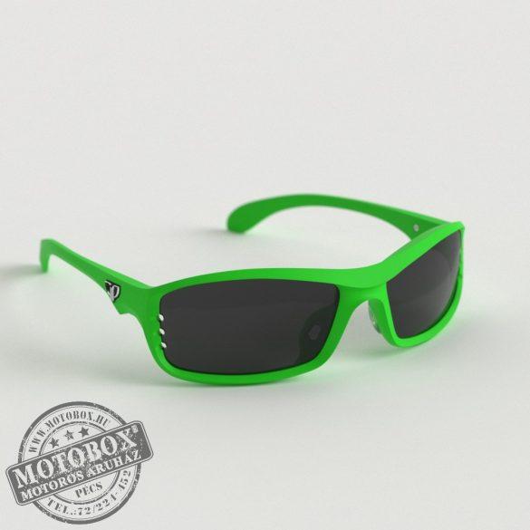 FLYWEAR Alpha Zöld napszemüveg füstszürke lencsével