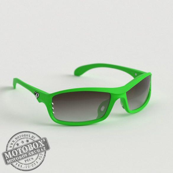 FLYWEAR Alpha Zöld napszemüveg Transitions® XTRActive® fényre sötétedő barna lencsével