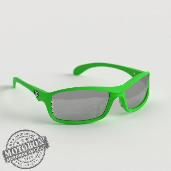 FLYWEAR Alpha Zöld napszemüveg tükrös ezüst lencsével