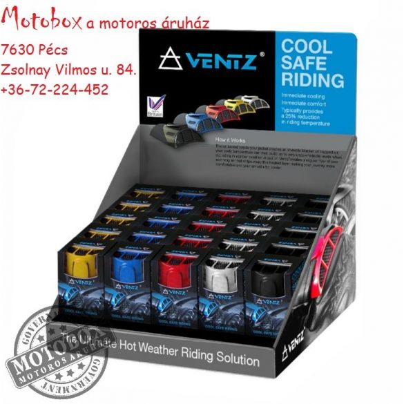VENTZ® Univerzális motorosdzseki szellőztetőrendszer (pár)