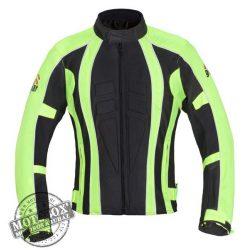 SIXGEAR Police textildzseki láthatósági sárga/fekete
