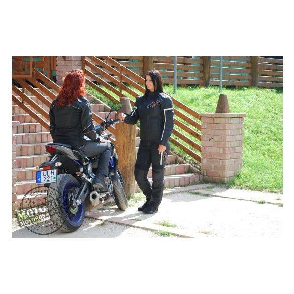 SPEED UP Lara Mesh női motoros textilnadrág fekete